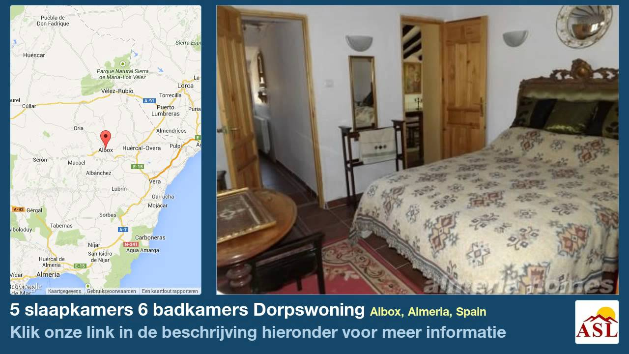 5 slaapkamers 6 badkamers Dorpswoning te Koop in Albox, Almeria ...