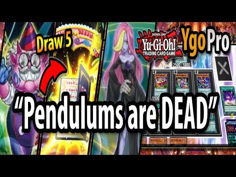 """NEW Abyss Actors (YgoPro) - """"Pendulums are DEAD!"""" (I'll Draw 5 thank you)"""