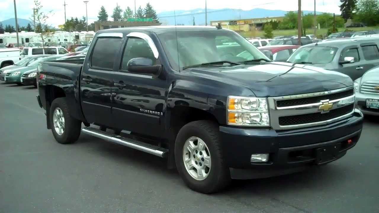 Everett Chevrolet >> 2008 Chevrolet Silverado 1500 LTZ - YouTube