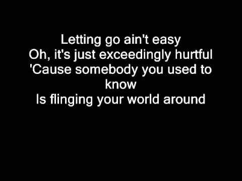Mariah Carey- The art of letting Go- lyrics