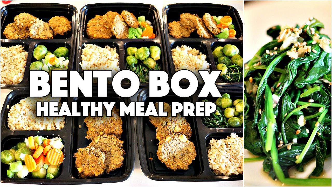 BENTO BOX MEAL PREP | EASY VEGAN LUNCH IDEAS