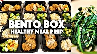 BENTO BOX MEAL PREP | EASY VEGAN LUNCH IDEAS