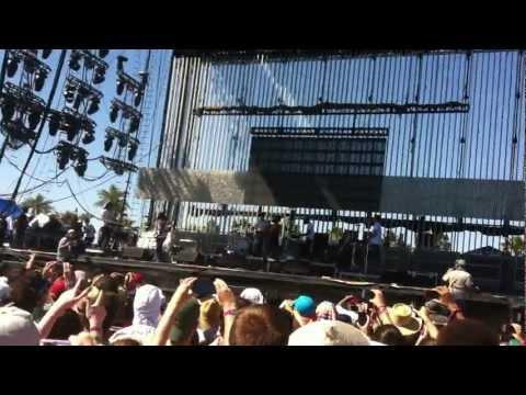 Coachella 2012 W2: Childish Gambino Coachella freestyle