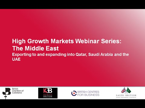 BCC Webinar Series: Doing business in the Middle East