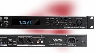 Demofilmpje Mediaplayer Denon DN F350