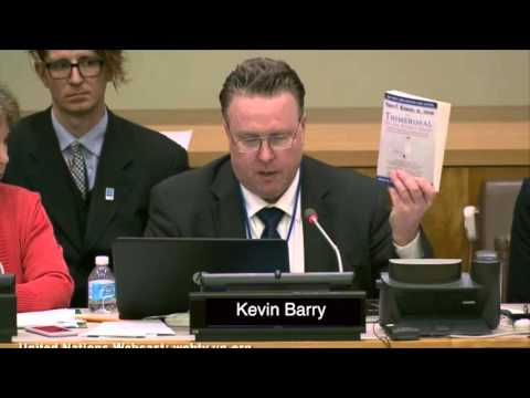 United Nations 4/26/2016 - consider global ban on Thimerosal containing vaccines