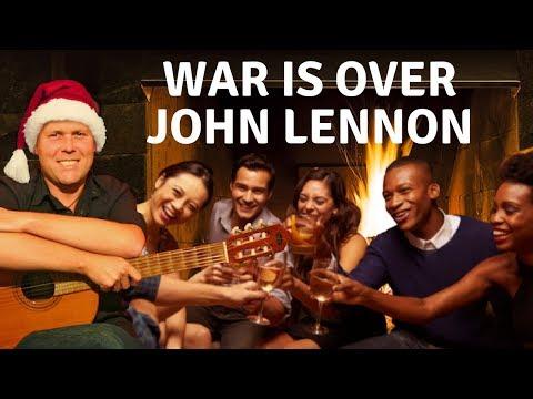 Akkoorden War is Over Merry X Mas John Lennon leren spelen op gitaar