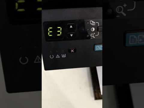 Resolvendo erro E3 na impressora HP1132 cartucho incompatível.