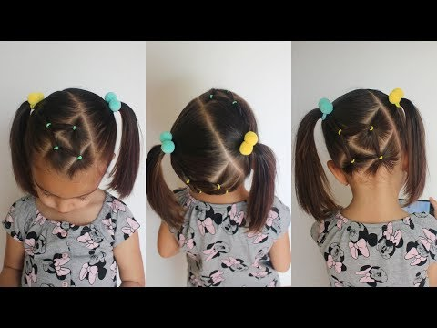 beautiful-hairstyle-for-babies-with-short-hair.-quick-and-easy