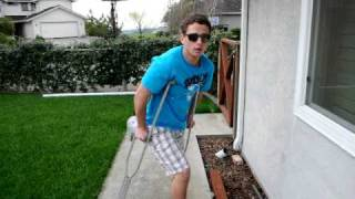 How to be cool on crutches