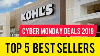 Top 5 Best Selling Products on Amazon & Kohl's || Cyber Monday Deals 2019 || Hurry Up Limited Offer