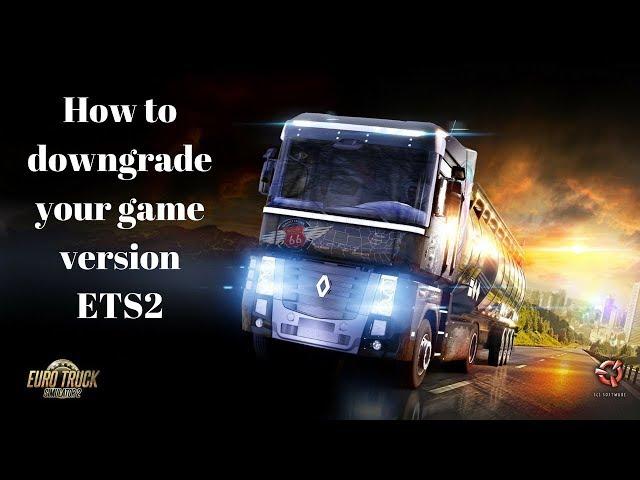 Euro Truck Simulator 2: Hoe te downgraden ETS2 / ATS (Dutch)