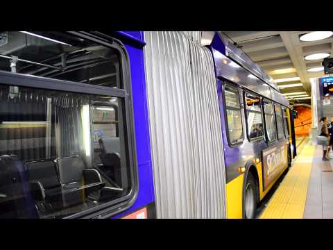 King County Metro & Sound Transit : Pioneer Square Transit Tunnel / LINK Rail Station