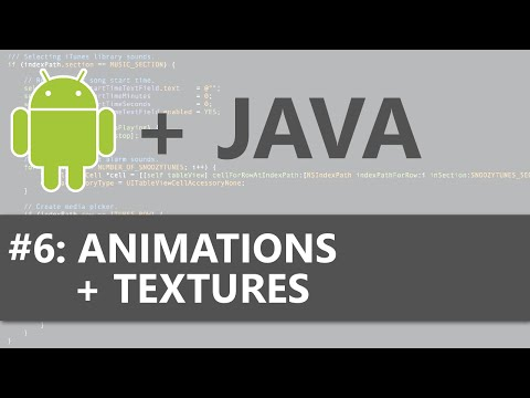 Android Studio 2D Game #6 - Animations And Textures
