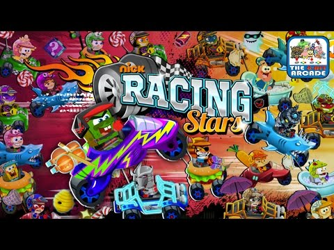 Nick Racing Stars - Brand New For Fun Mode Where Anything Goes (Nickelodeon Games)