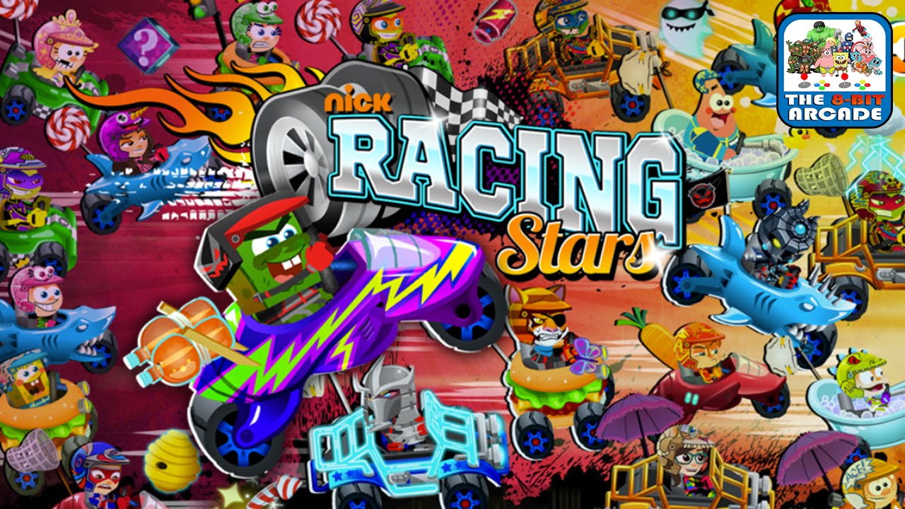 Nick Racing Stars Brand New For Fun Mode Where Anything Goes Nickelodeon You