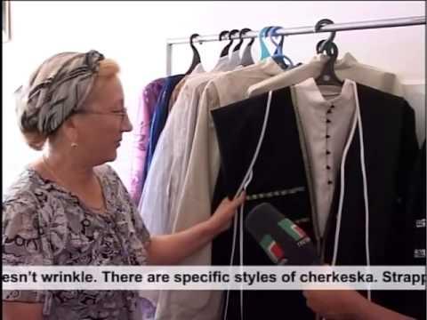 Chrystal Callahan Chechen National Costume Men Women
