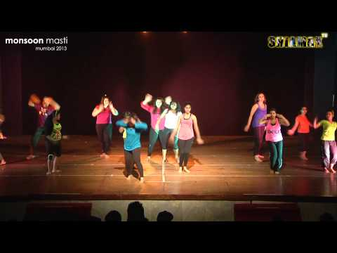 Ambarsariya + Heartless - Shiamak Monsoon Masti 2013 - Mumbai Travel Video
