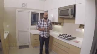 Acrylic kitchen - Sobha City - Santorini - 3112