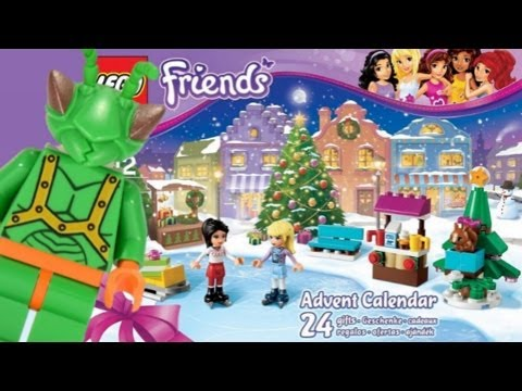 LEGO Friends 2013 Advent Calendar Review 41016 - YouTube