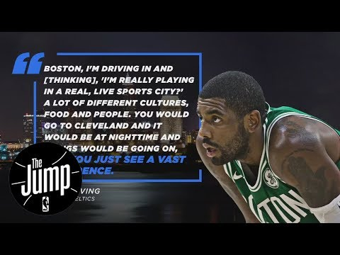 Kyrie Irving's Boston comments a shot at Cleveland? | The Jump | ESPN