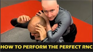 How To Perform The Perfect Rear Naked Choke by John Danaher