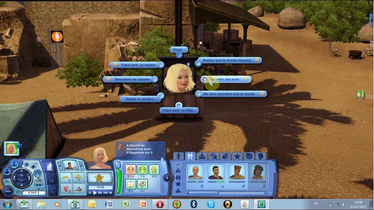 Sims 3, mon sims bloque dans la mme activit - NextPLZ