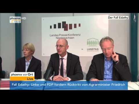 Fall Edathy - PK der StA Hannover mit Jörg Fröhlich am 14.02.2014