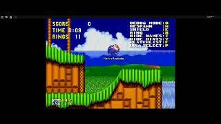 Roblox Classic Sonic Simulator Gameplay