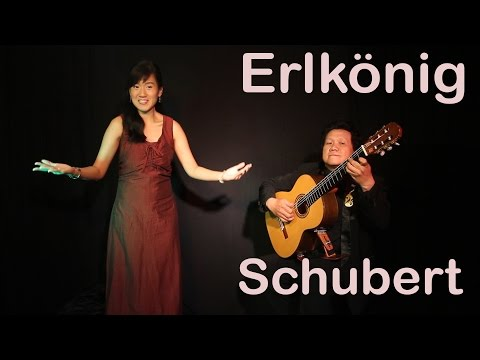 ERLKöNIG - SCHUBERT Duet Guitar & Soprano -Intan Mayadewi Tjahjaputra & Lianto Tjahjoputro