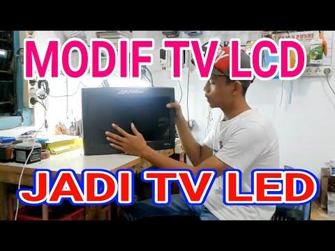 Modif tv Lcd jadi tv Led thumbnail