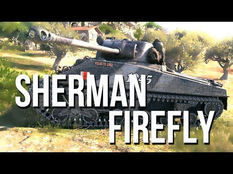 Sherman vc Firefly (Firefly vc) / Танк Шерман с Британским дыроколом
