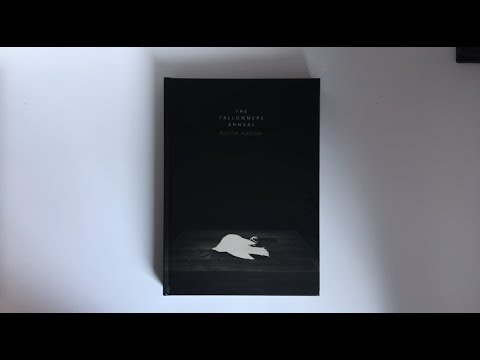 Keaton Henson THE TALLOWMERE ANNUAL Limited Book Unboxing