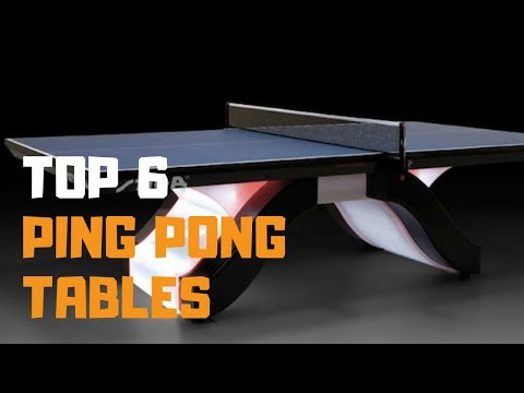Best Ping Pong Table In 2019 - Top 6 Ping Pong Tables Review