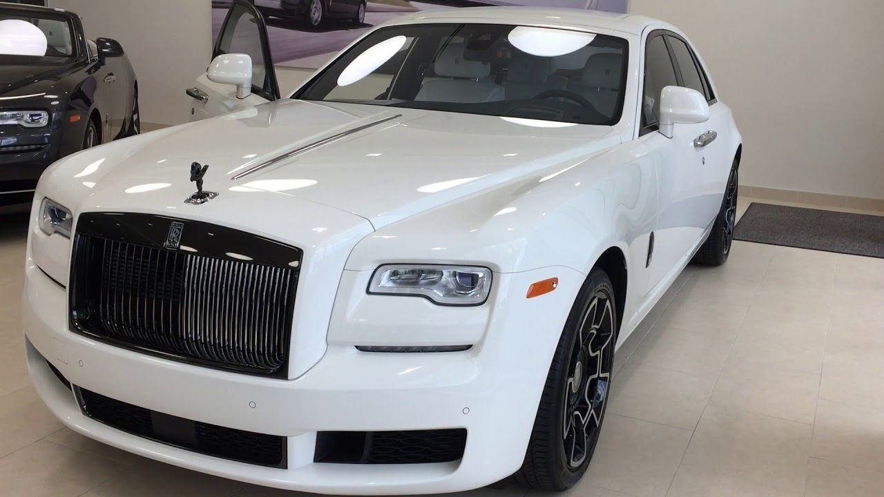 2018 Rolls-Royce Ghost Black Badge Edition