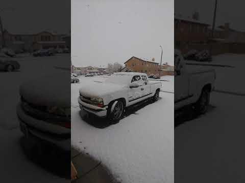 Snow In California (Lancaster CA)