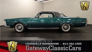 1969 Lincoln Continental Mark III - Louisville Showroom -  Stock # 1131