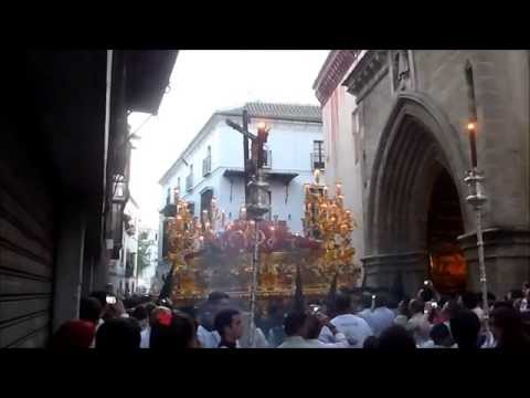 Hermandad de la Sed: Saludo del Cristo de la Sed a la Hermandad de San Esteban, 2014