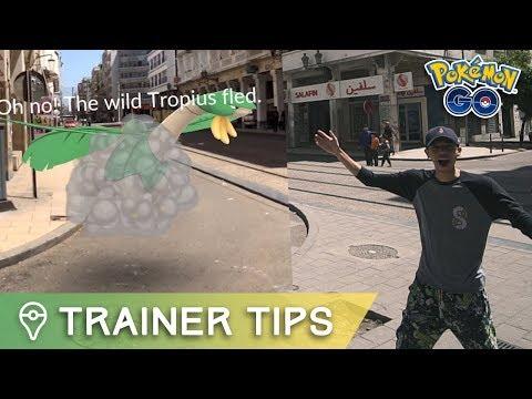 I FOUND TROPIUS! (Africa Region Exclusive in Pokémon GO)
