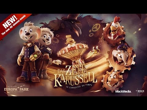 THE TIME CAROUSEL 4D - Official Trailer (2015 / English)