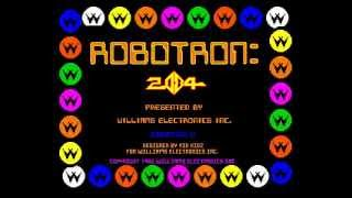 Arcade Game: Robotron 2084 (1982 Williams)