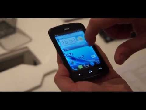 Acer Liquid E1 and Z2 hands on