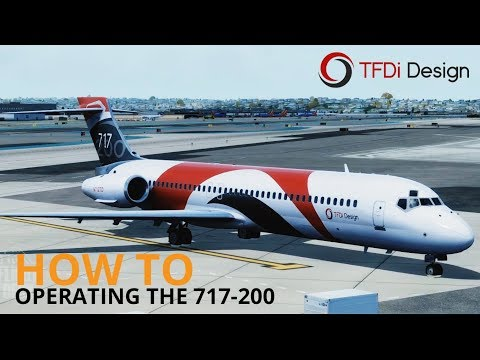 How To Operating The TFDi Design 717 200 YouTube