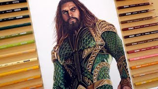 Speed Drawing: Aquaman   Justice League