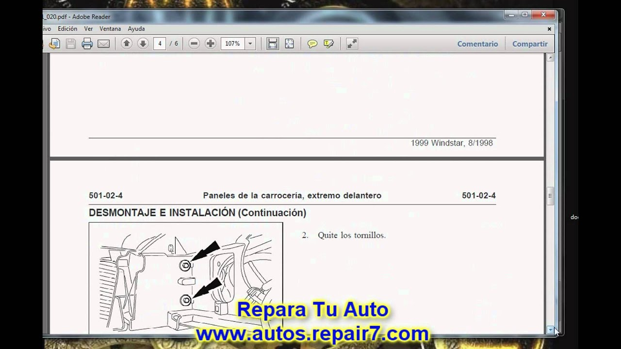 ford windstar 1998 1999 reparacion y mecanica autos repair7 com rh youtube com manual de transmision windstar 96 manual windstar 96 en español