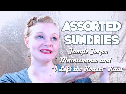 Assorted Sundries: Tangle Teezer Maintenance and a Mini Haul