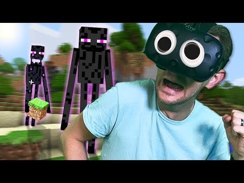 Why Are Enderman Chasing Me!? | Minecraft Mixed Reality [Ep 10]