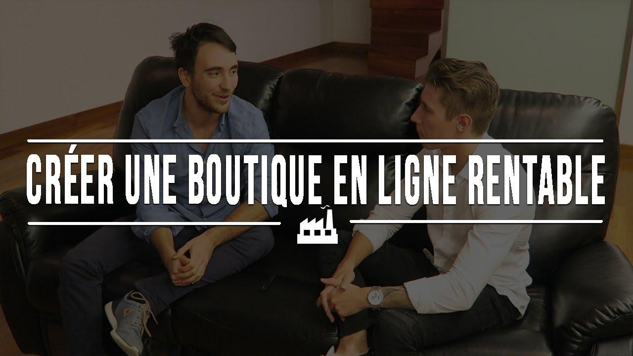 Comment créer une boutique en ligne rentable
