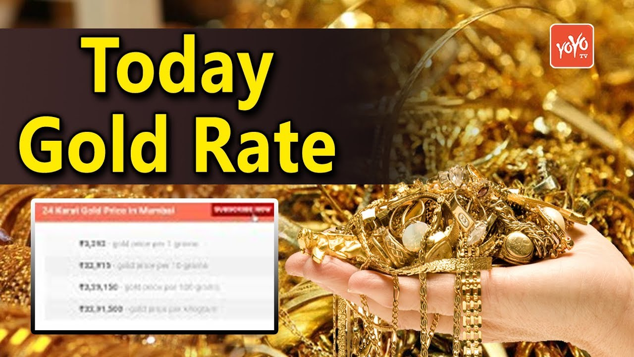 Gold Rates Today 12 1 2019 In India