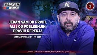 INTERVJU: Aleksandar Džankić - Jedan sam od prvih, ali i od poslednjih pravih repera! (20.9.2019)